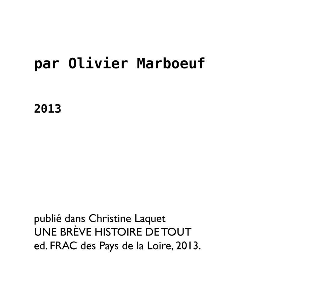 L'éclaireur et le loup, de l'art du leurre chez Christine Laquet.